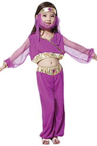 Ace Halloween Children's Kids Girls Arabian Princess Queen Costumes