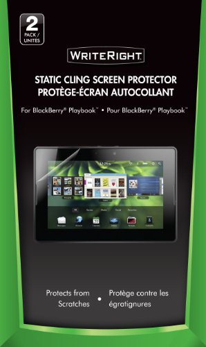 Wrightright 9227401 Blackberry Playbook Screen Protector, 2-Pack (Clear)
