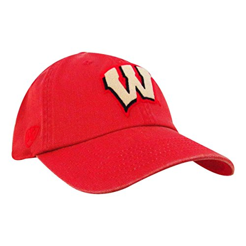 Wisconsin Badgers Dispatch Red Adjustable Hat (Wi Badger Hat compare prices)