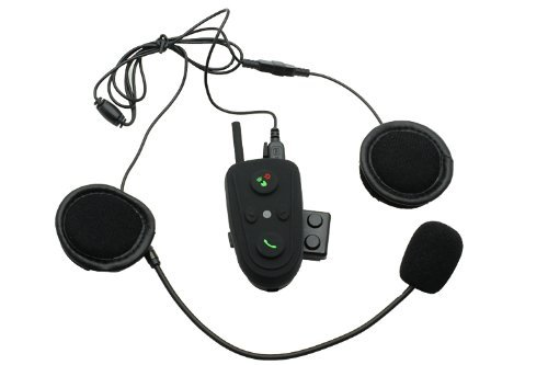 Riorand® 100M 2-Way Talk Intercom Bluetooth Fm Motorcycle Motorbike Helmet Headset Hm-528