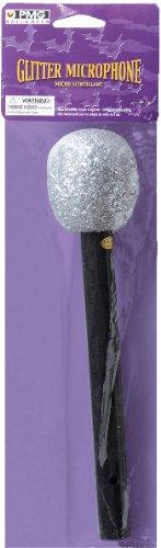 Glitter Microphone (Silver), Silver,