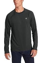 Champion Men's Powertrain Long Sleeve Raglan T-shirt