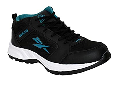 Adventurzz Addoxy Sultn-10 Men Black/Blue Sport Shoes