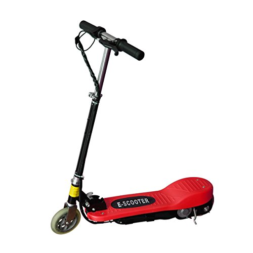 Maxtra® Electric Scooter Motorized Scooter Bike Rechargeable Battery Red E120