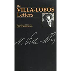 Villa-Lobos Letters cover