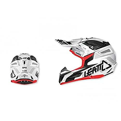Casque leatt gpx 5.5 composite blanc/noir t.xs - Leatt 433447XS
