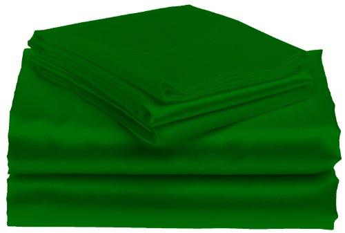 Green Satin Sheets front-125357