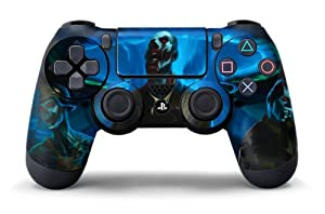 PS4 Controller Designer Skin for Sony PlayStation 4 DualShock Wireless Controller - Zombie Trooper