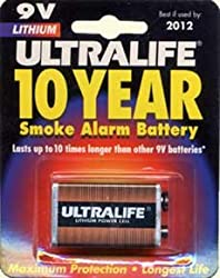 Ultralife Lithium PP3 / 9v Battery (1 pack)