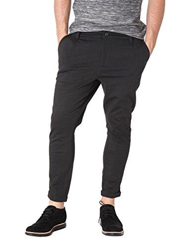 ONLY & SONS - Pantaloni da uomo solid chino exp w31 l30 nero