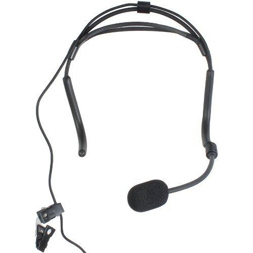Electro-Voice Hm7 Headworn Condenser Mic W/Ta4F For Ev/Telex