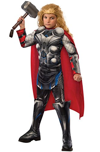 Mememall Fashion Avengers 2 Deluxe Thor Child Costume (Thor Muscle Toddler Costume)