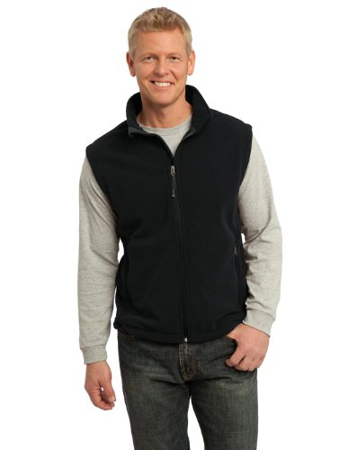 Port Authority F219 Value Fleece Vest - Black - Xl