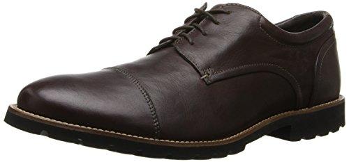 ROCKPORT 乐步 Channer Oxford 男士休闲皮鞋 $59.88+$8.26直邮中国(约¥510)