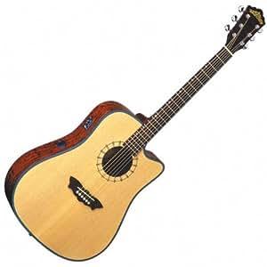 washburn d46 sce acoustic electric guitar musical instruments. Black Bedroom Furniture Sets. Home Design Ideas