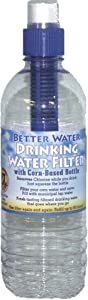 Corn-based Water Bottle with Built-in Filter