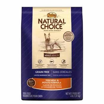 Natural Choice Grain Free Adult Natural Fish Meal & Potato Dog Food - 4 Lbs