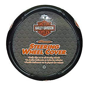 PlastiColor 6340 Harley-Davidson Style Steering Wheel Cover from Plasticolor