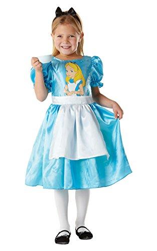 Rubies - Alice In Wonderland - Bambini Costume - Medium - 116 Centimetri