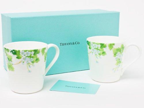 ティファニー 「LEAVES」ペアマグカップ tiffany-69