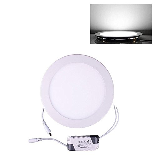Home Useful 18W Dimmable Cree Led Recessed Ceiling Panel Down Light Bulb Round Pure White