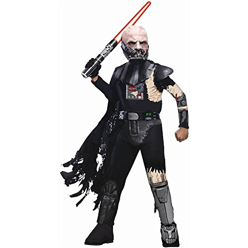 Battle Damaged Darth Vader Kids Costume