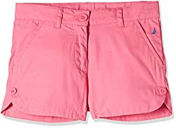 Nautica Kids Girls' Shorts (14G01B652_Med Pink_07)