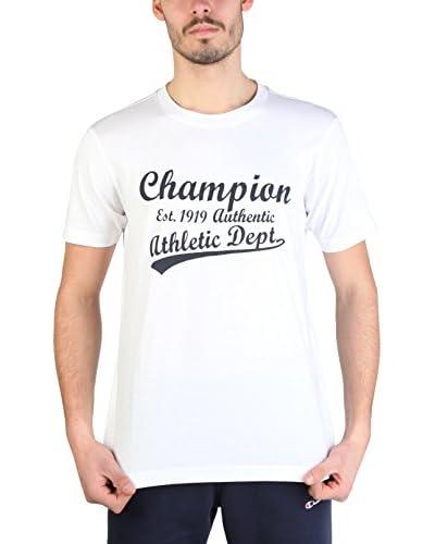 Champion T-Shirt Manica Corta [Bianco]
