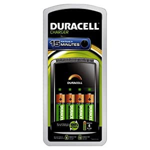 Duracell Chargeur Ultra Rapide 15 minutes (CEF15) x1