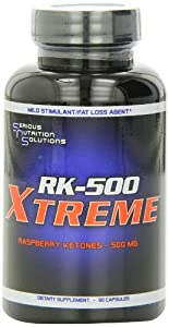 Serious Nutrition Solution RK-500 Xtreme Capsules, 500mg, 90-Count