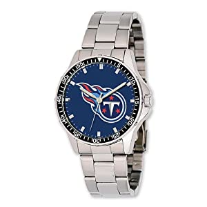 Mens NFL Tennessee Titans Coach Watch by Jewelry Adviser Nfl Watches