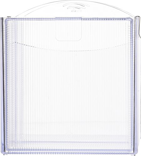 sparco-storage-organizer-2-drawer-6-x-6-x-6-inches-clearspr82978