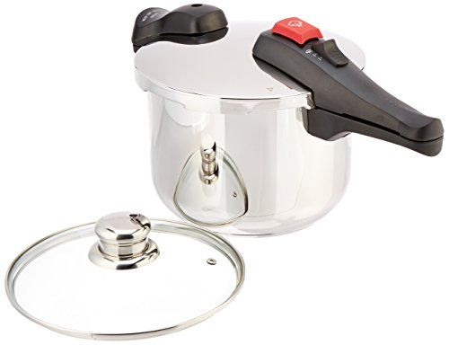Chef's Design D6 Stainless Steel Dual Function Pressure Cooker, 6-Liter (Chef Design Pressure Cooker compare prices)