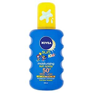 Nivea Sun Kids Moisturising Sun Spray Very High SPF 50+ - 200 ml