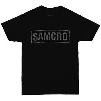 Homme's SAMCRO et Sons of Anarchy en bannière T-Shirt, X-Large