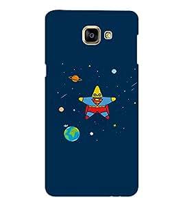 EPICCASE Space star Mobile Back Case Cover For Samsung Galaxy A9 (Designer Case)