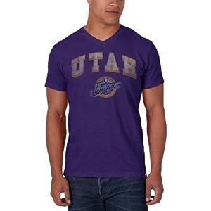 NBA Utah Jazz JV Scrum Tee, Grape by
