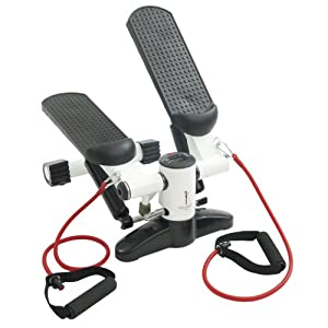 Skinnygirl Workout Mini Stepper with Tubes