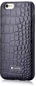 KAYZZ Croc Leather Back Cover for Apple Iphone 6 / 6s- Black