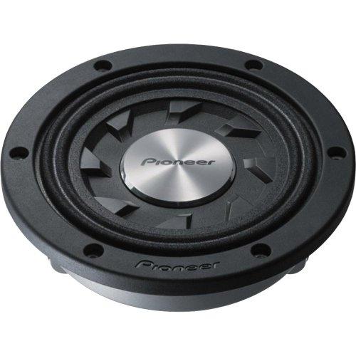 Pioneer TS-SW841D 8 In. Shallow-Mount Subwoofer with 500 Watts Max. Power