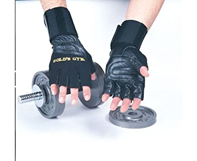 Golds Gym Wrist Wrap Lifting Gloves by Golds Gym