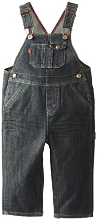 Levi's Baby Boys' Overall with Snappy Tape, Pirate, 24 Months