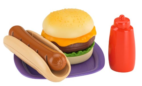 Fisher-Price Grill Accessory: Burger & Hot Dog