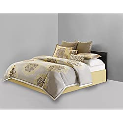N Natori Medallion Comforter Set, Multicolor, King