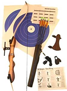 Ragim Wildcat Jr Takedown Recurve Bow Complete Archery Set LH 20#