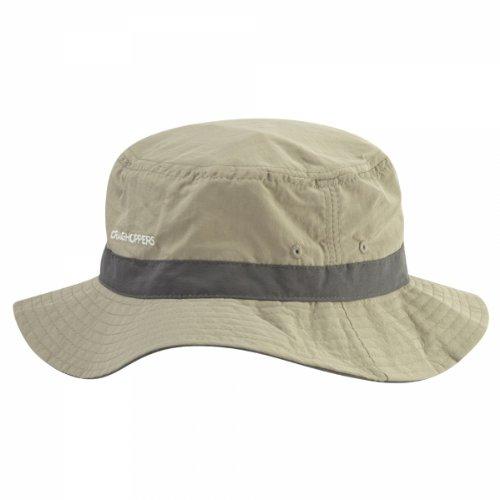 Craghoppers Men's NosiLife Sun Hat Accessories - Pebble, Medium/Large