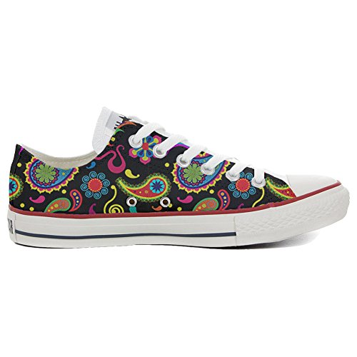 Converse All Star Hi chaussures coutume (produit artisanal) Fluo Pasley