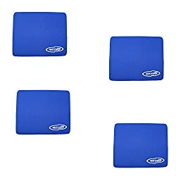 Storite Blue (4 Pack) 3mm Thickness Speed Rubber Mouse Pad 1030 Skid Resistant Surface