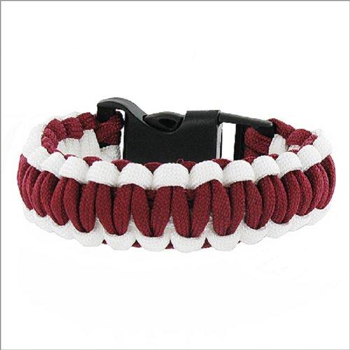 JOA Two Color Paracord Braided Bracelet #041450