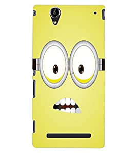 ColourCraft Cartoon Design Back Case Cover for SONY XPERIA T2 ULTRA DUAL D5322